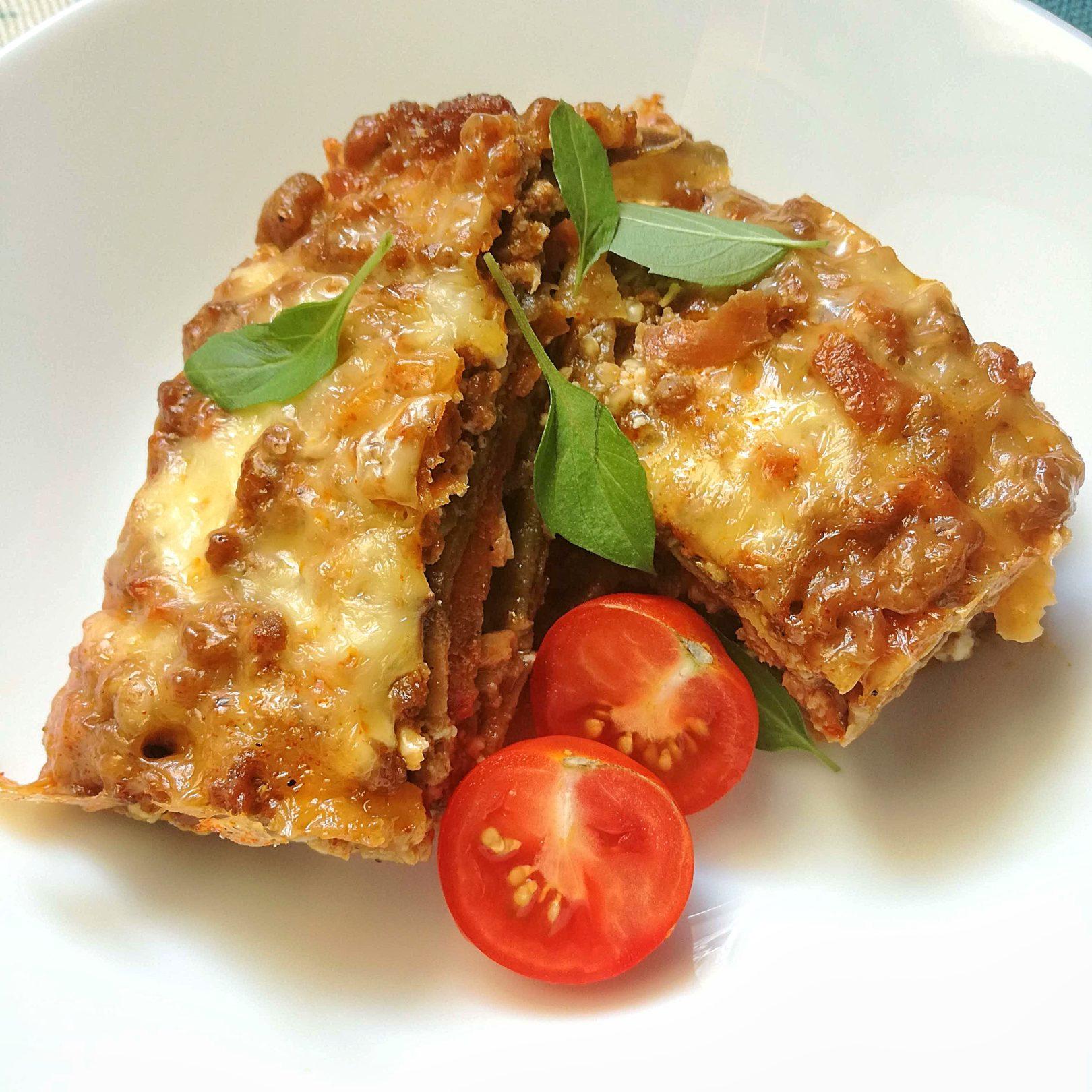 Low-Carb and Guilt-Free Eggplant Lasagna