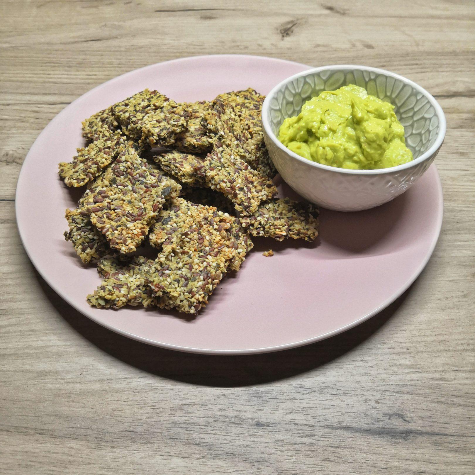 Crispy Seed Crackers - Quick & Delicious Snack