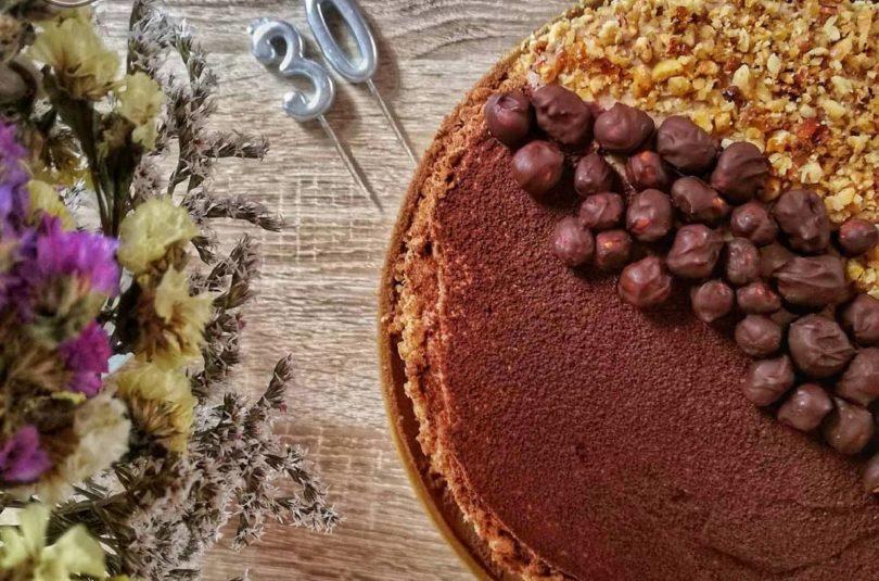 Hazelnut Chocolate Cake – A Decadent Dessert