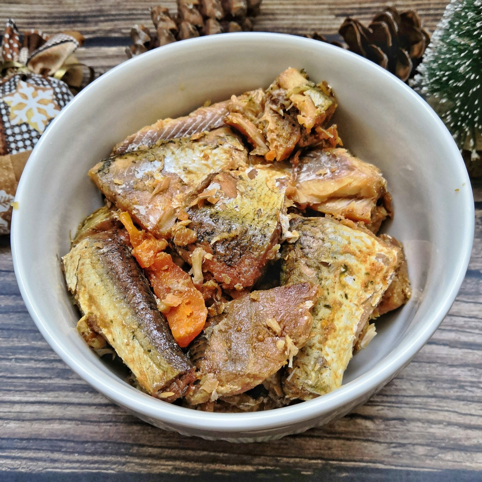 Pressure Cooker Freshwater Fish With Vegetables