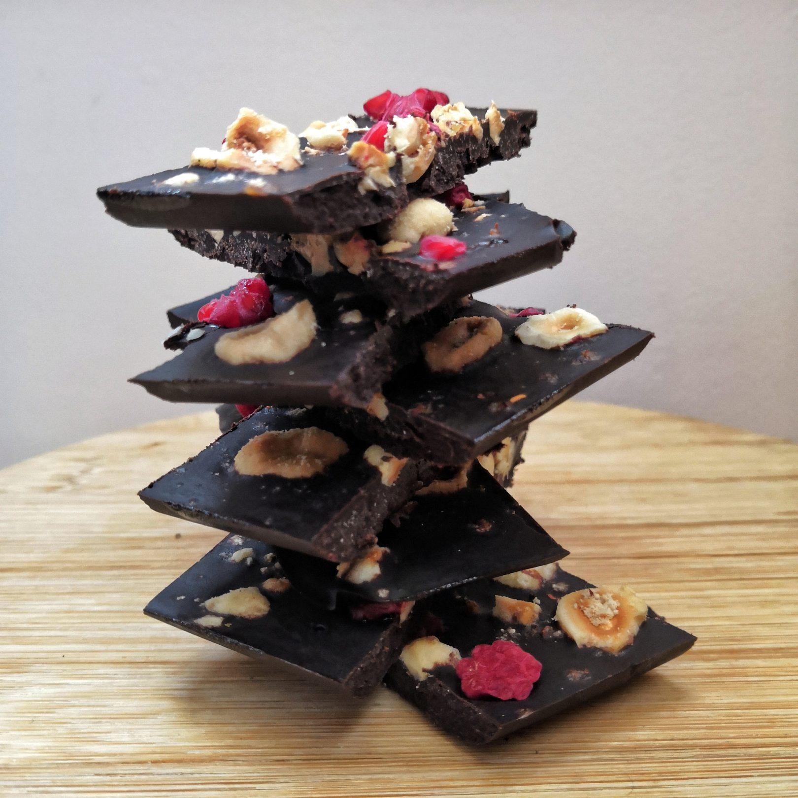 Homemade Keto Chocolate Bark – From Scratch!