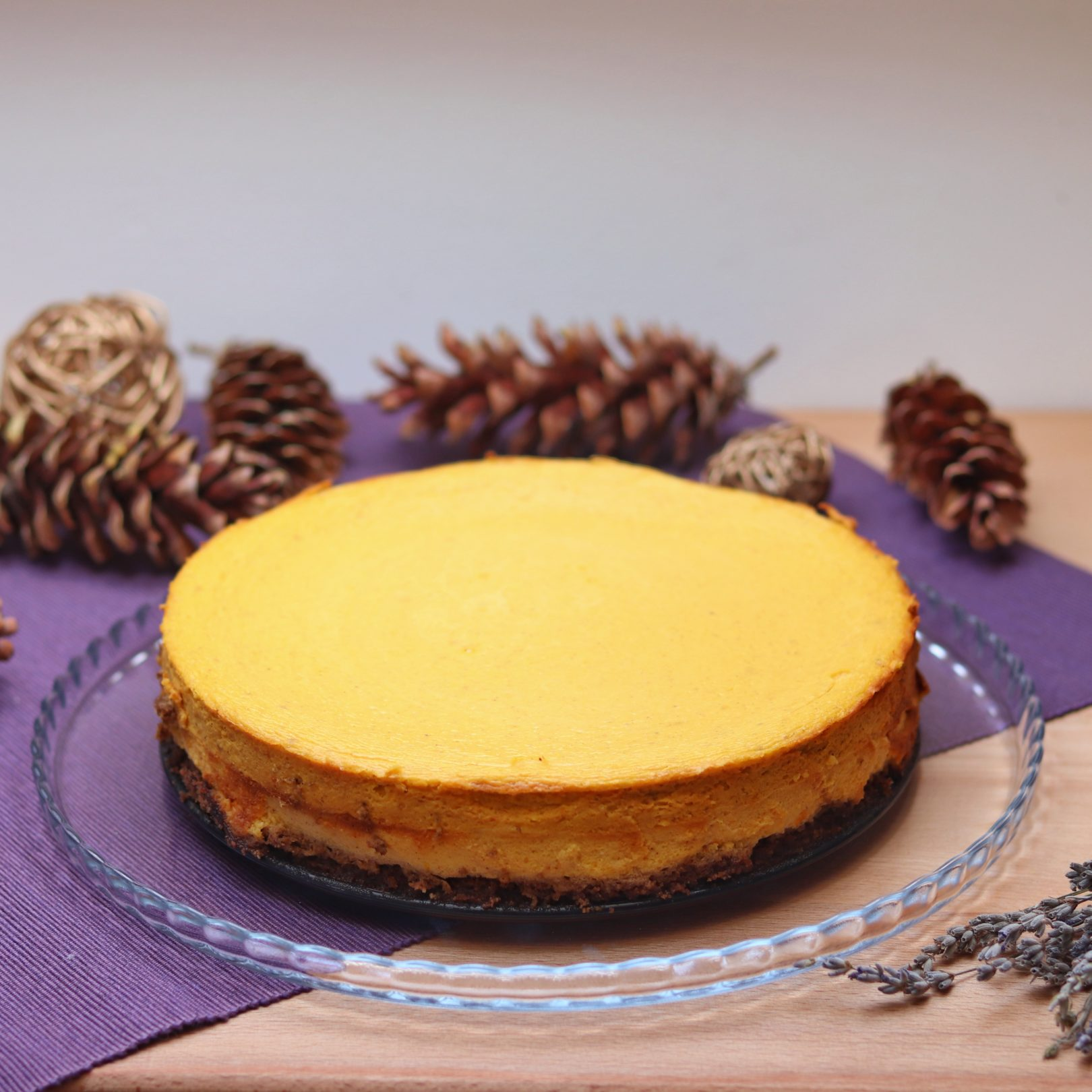 Pumpkin Cheesecake – Layered Creamy Holiday Dessert
