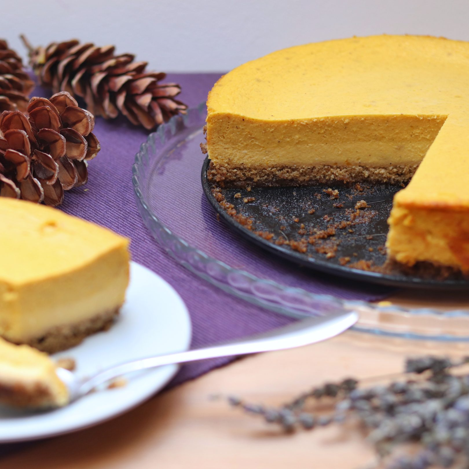 Pumpkin Cheesecake - Layered Creamy Holiday Dessert